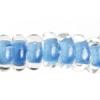 Lamp Bead Donut 50pc 9mm Pastel Blue